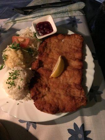 Gasthaus Restaurant Buzihütte: Schnitzel