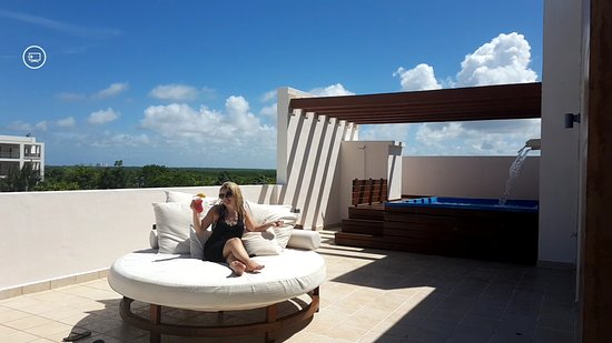 Excellence Playa Mujeres: Our Terrace w/ Plunge Pool