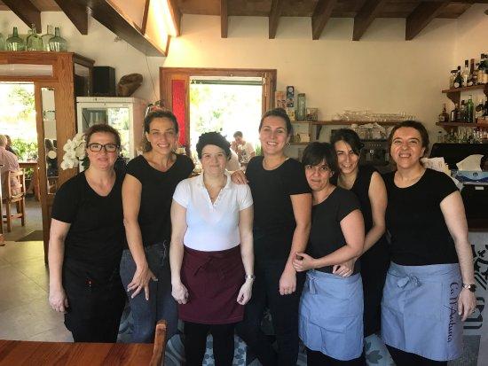 Fornalutx, Spain: Todo un equipo de profesionales...a cual mejor y simpatica...¡¡ Chicas no cambieis!!