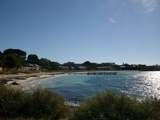 Rottnest Island, Australia: The first beach upon arriving