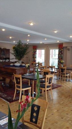 Hotel Kronprinz: breakfast room