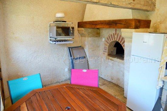 Francueil, Prancis: Coin cuisine commun