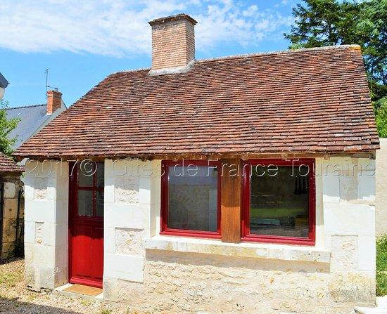 Francueil, Prancis: Ancien four à pain transformé en cuisine