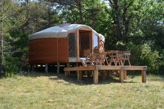 eco camping du larzac millau francia opiniones y fotos del campamento tripadvisor. Black Bedroom Furniture Sets. Home Design Ideas