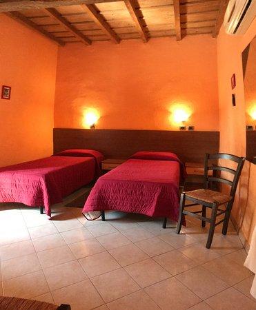 Tromello, Italy: camera doppia con letti singoli