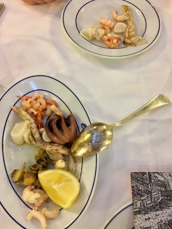 Trattoria alla Madonna: Adriatic appetizer