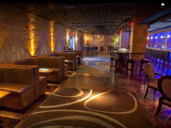Azul Lounge: Inside of Azul, so cool!