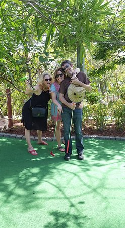 Putt'n Around: Shaded courses