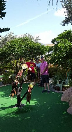 Putt'n Around: Tropical landscaping