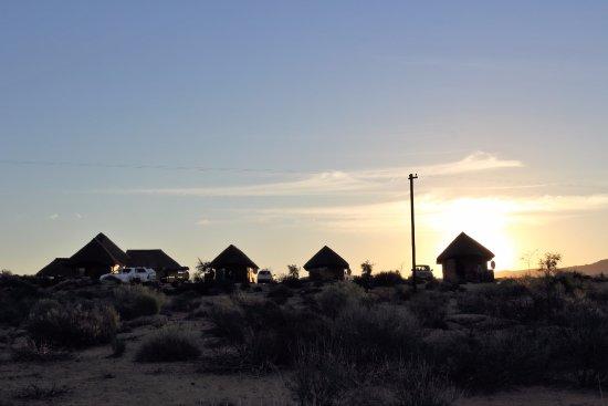 Springbok, Afrique du Sud : Sunset over the Lodge