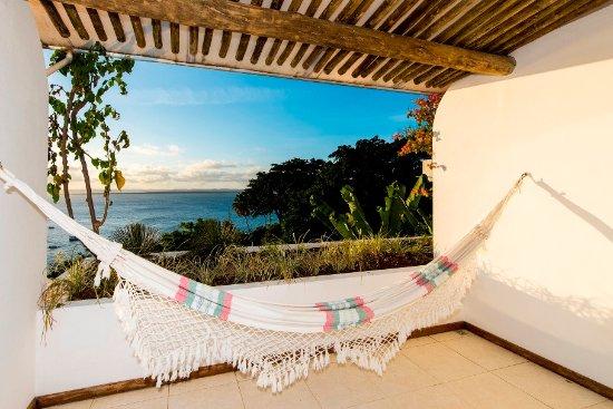 Hotel Pousada Natureza: Varanda do Loft vista panorâmica