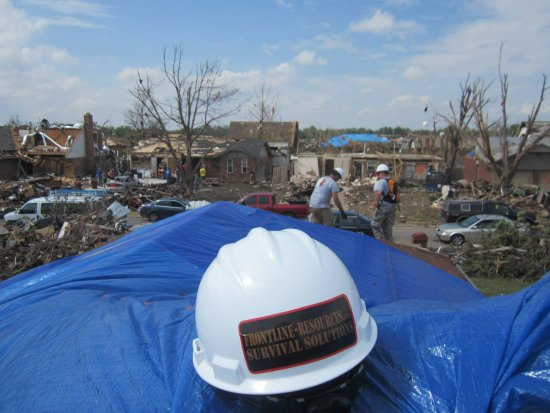 Moore, OK: in the wake of the EF5 tornado in 2013