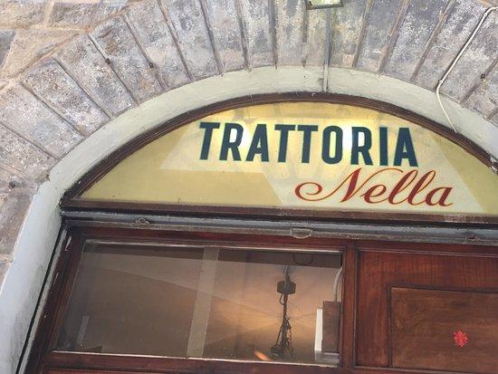 Trattoria Nella : Sign.