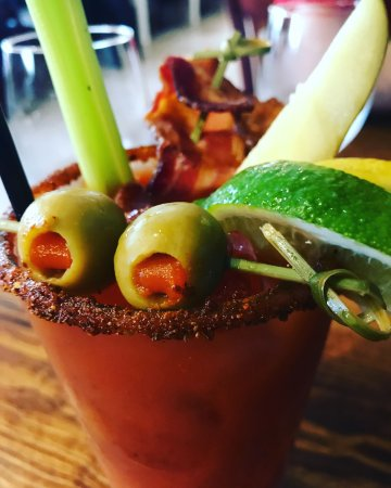 Rocktown Kitchen: Bloody Mary is on point! Bacon included ;)