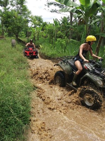 Тубан, Индонезия: Bali Quad ATV Adventure