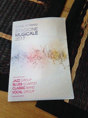 Ranco, Italia: Music events cover page