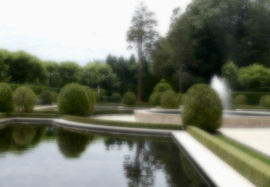 Huntington, État de New York : View of the garden