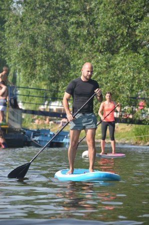 Nelezime na gauci - Paddleboarding