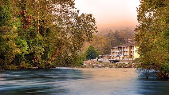 The Best Western Plus River Escape is the perfect spot for your next visit to Dillsboro, NC