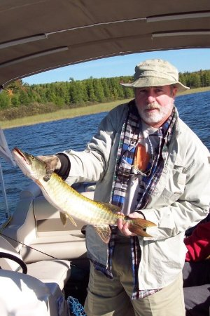 Land O' Lakes, Висконсин: Even fancy NYC lawyers can catch fish. Who knew?