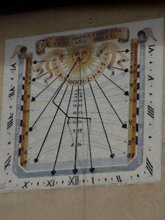Bergheim - cadran solaire
