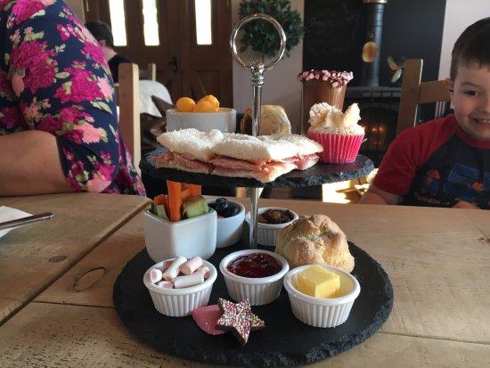 Bootle, UK: Afternoon Tea Platter for children