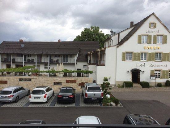 Auggen, ألمانيا: Gartenwirtschaft