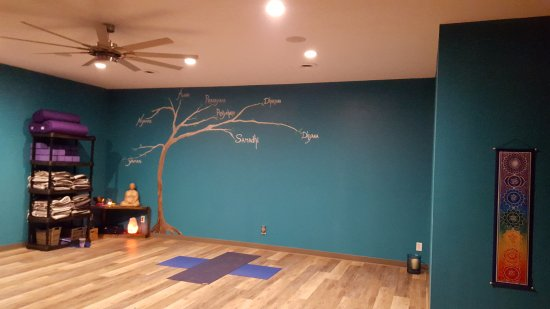 Gloucester Point, Βιρτζίνια: Studio where you can stretch, strengthen, relax and turn within