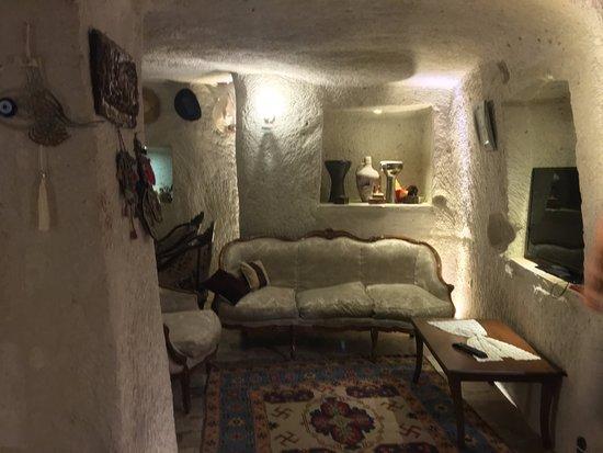 Melek Cave Hotel: Reception