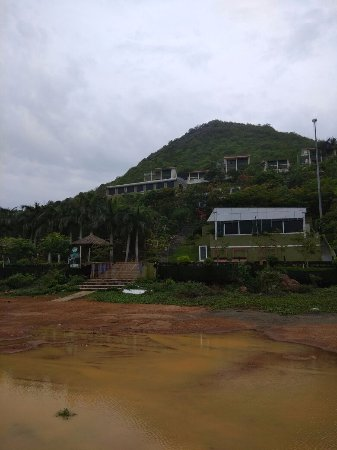 Haritha Hotel, Vizag: Photo of hotel taken beach