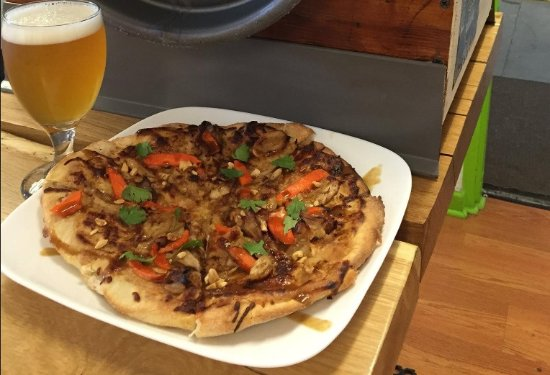 Kutztown, Pensilvania: Enjoy our Flatbread Pizza