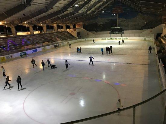 Stadio del ghiaccio di Corvara in Badia