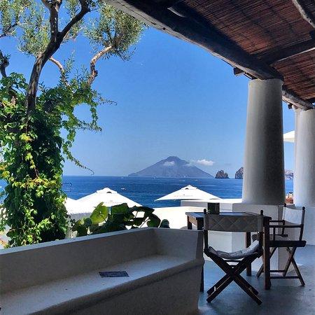 la terrazza del hotel cincotta panarea - Foto di Hotel Cincotta ...