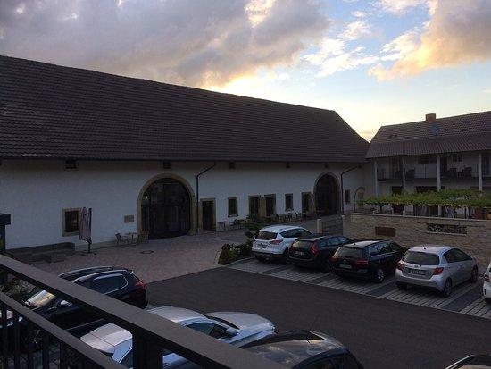 Auggen, ألمانيا: Blick vom Balkon