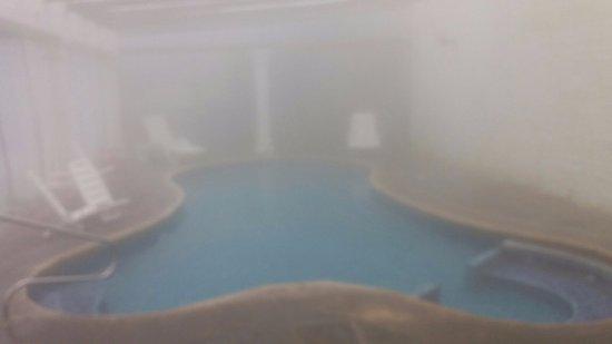 Hotel Esperanza & Artemisa Spa: Piscina cubierta, con yacuzzi. Estupenda.