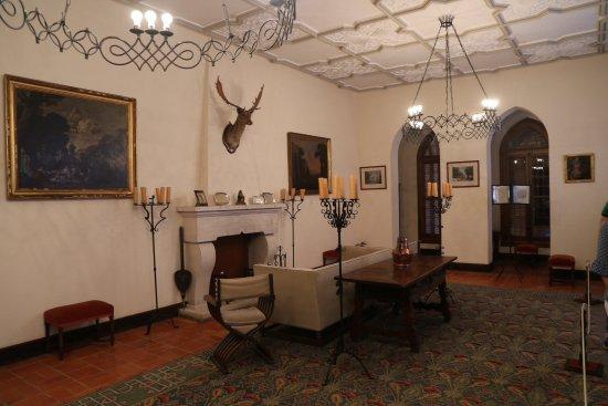 Castillo de la Mota: Salon