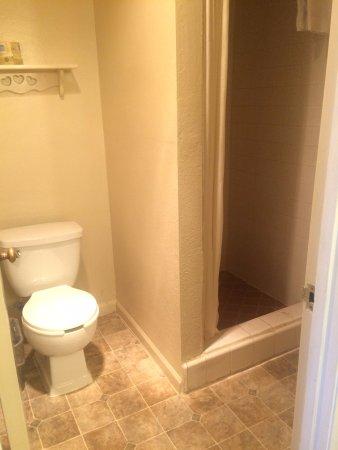 Rodeway Inn Sonora: Bathroom
