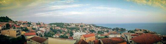 Apartments Tati: Ausblick von der Terrasse
