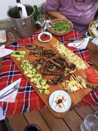 Pri Kiseliya: Selection of meats was superb!!!