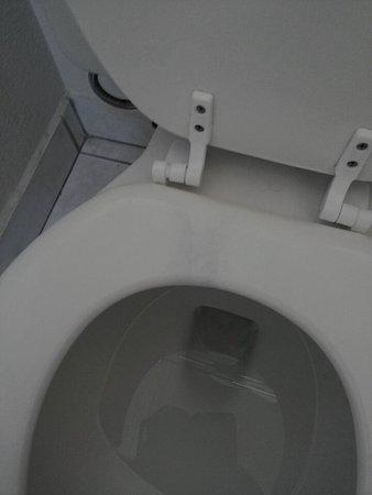 Vacaville, CA: Stain on toilet