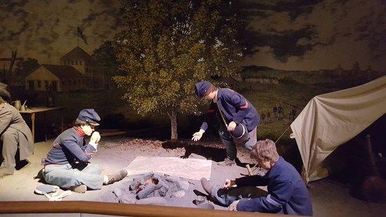 Display at National Civil War Museum