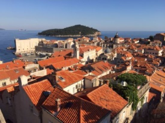 Ancient City Walls: Old City Red Roofs