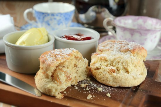 Georges Dining Room And Bar Cream Tea At