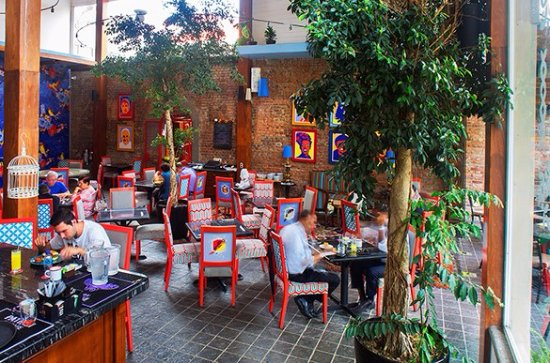 Hotel Dunn Inn: Restaurante Alma de Amón