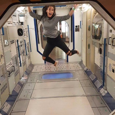 Zero Gravity! Hehe - Picture of National Space Centre, Leicester
