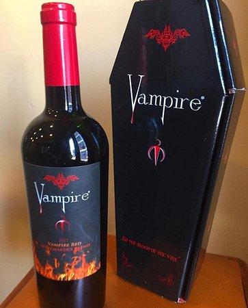Covington, GA: Drink the Blood of the Vine - Vampire Wine