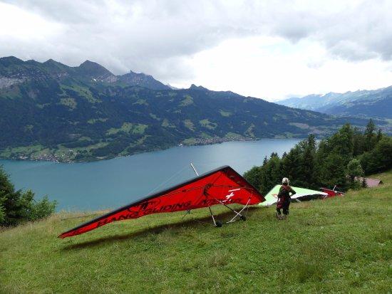 Hang Gliding Interlaken: Take-off Spot