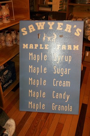 Jackman, Maine: In the mood for some Maple Products? Here are a few of the things we have to offer.