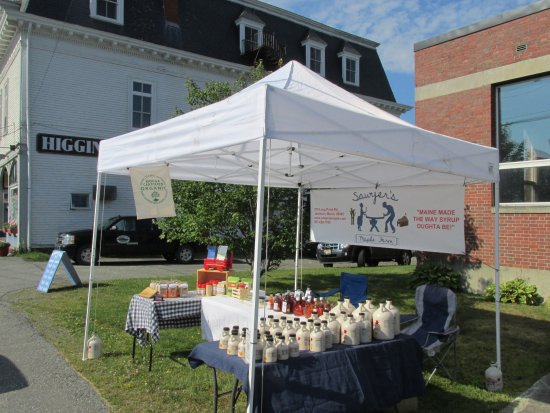 Jackman, ME: We love to sell at Craft fairs and Farmers Markets