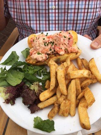 Highlands, نيو جيرسي: Lobster roll